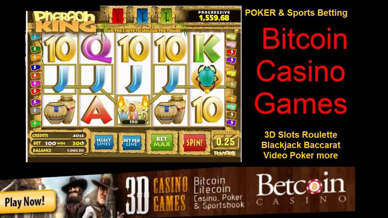 Pharaoh King Slots Bitcoin Casino Games Why Not Use Em Or