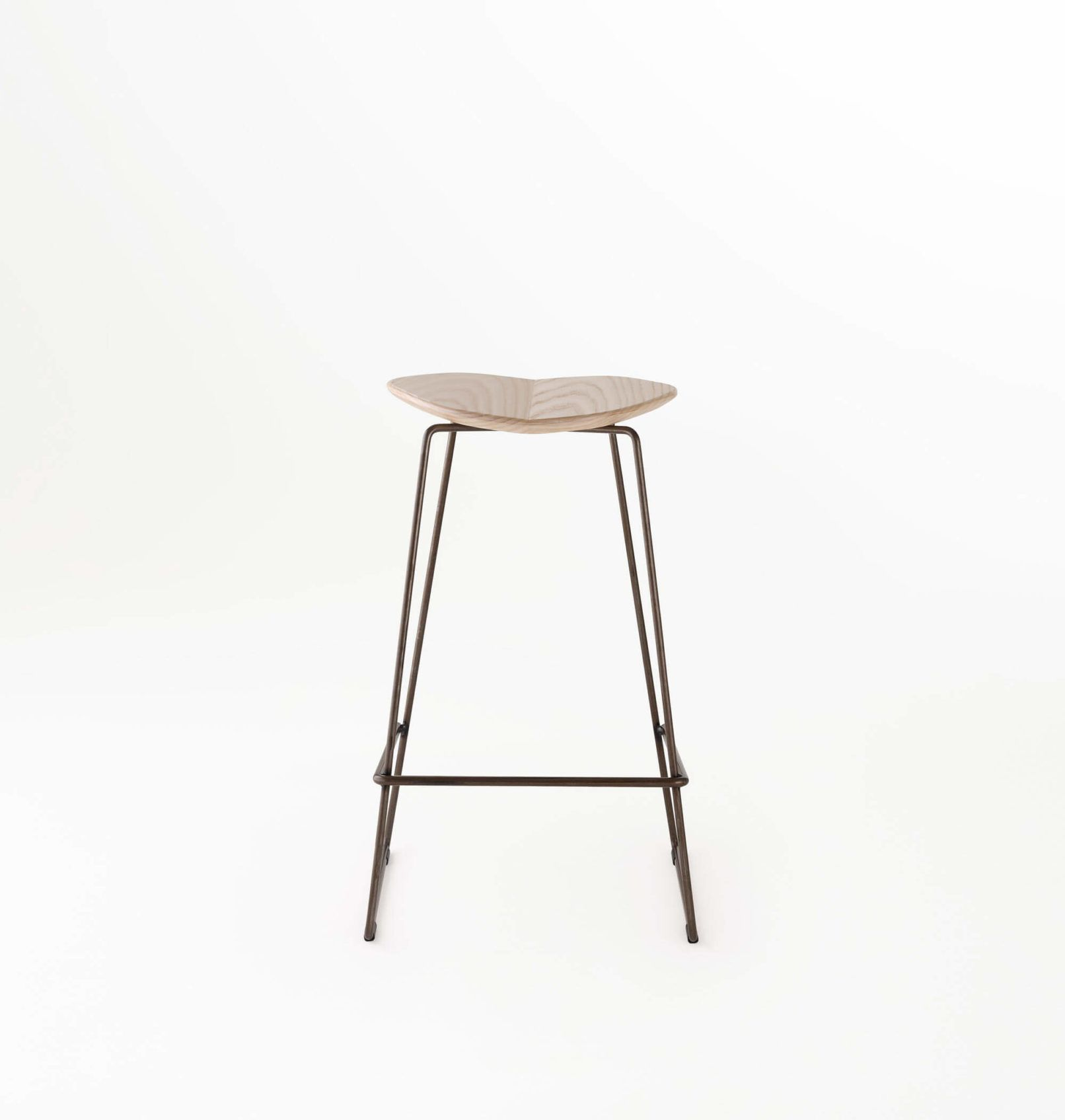Superior The Duet Stool Features A Gently Radiused Curve To The Timber, Upholstered  Or HDPE Seat On A Slender Base For Both Indoors And Outdoors. Made In  Melbourne. Nice Look