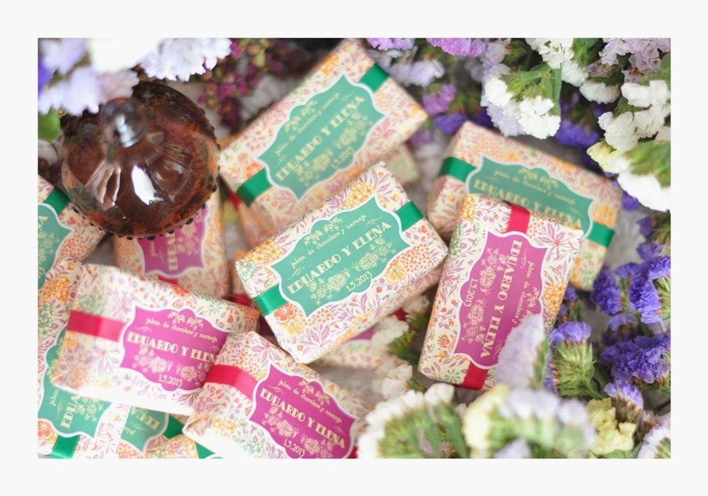 QUIERO UNA BODA PERFECTA: ¡Jabones naturales con aroma a exclusividad y personalización!