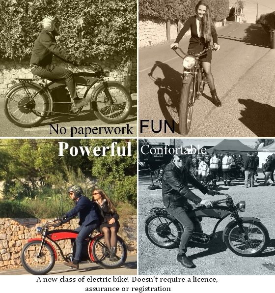 The Future Start Now 200 Km Range And 70 Km H Luxury E Bike Built In France With A Powerful Motor 250w To 2500w Vintage Bikes Electric Bike Bike
