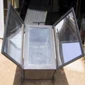 Survival Zombie Apocalypse:  The Homestead Survival:  DIY Solar Oven, a couple of different ones.