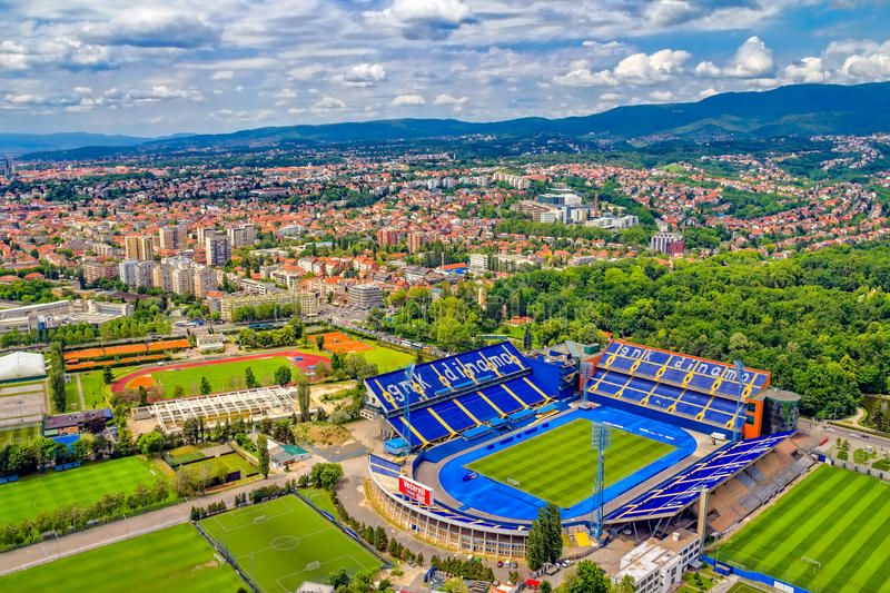 Photo About Zagreb Croatia May 26 Maksimir Stadium Is Official Field For Dinamo Football Club On May 26 2012 Zagreb Cro Zagreb Croatia Gnk Dinamo Zagreb