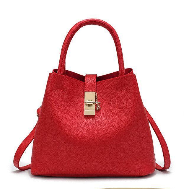e1349567ac7df1 Women's BagNew Bags Handbag Women Fashion Autumn Shoulder Bag Designer  Handbags High Quality PU Leather Ladies Bucket Casual Tote Bag