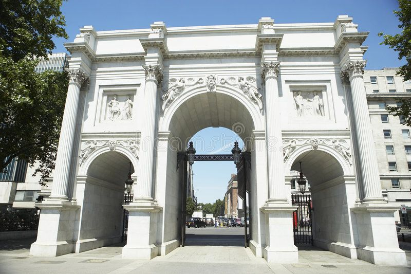 Marble Arch London England View Of Marble Arch London England Spon Arch Marble London View Marble Arch London Marble Arch London Attractions