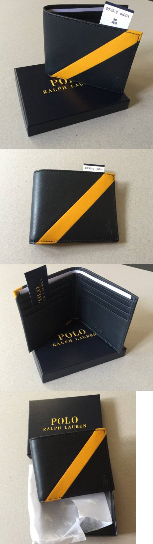 Business And Credit Card Cases 105860 Ralph Lauren Polo Leather