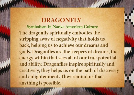 The Dragonfly Spiritually Embodies The Stripping Away Of Negativity