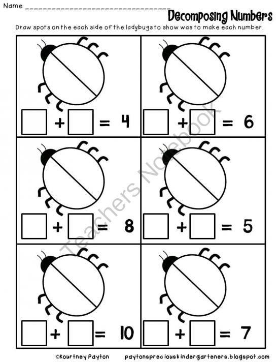 Decomposing Numbers Adding Matematica Divertida Matematica Matematicas