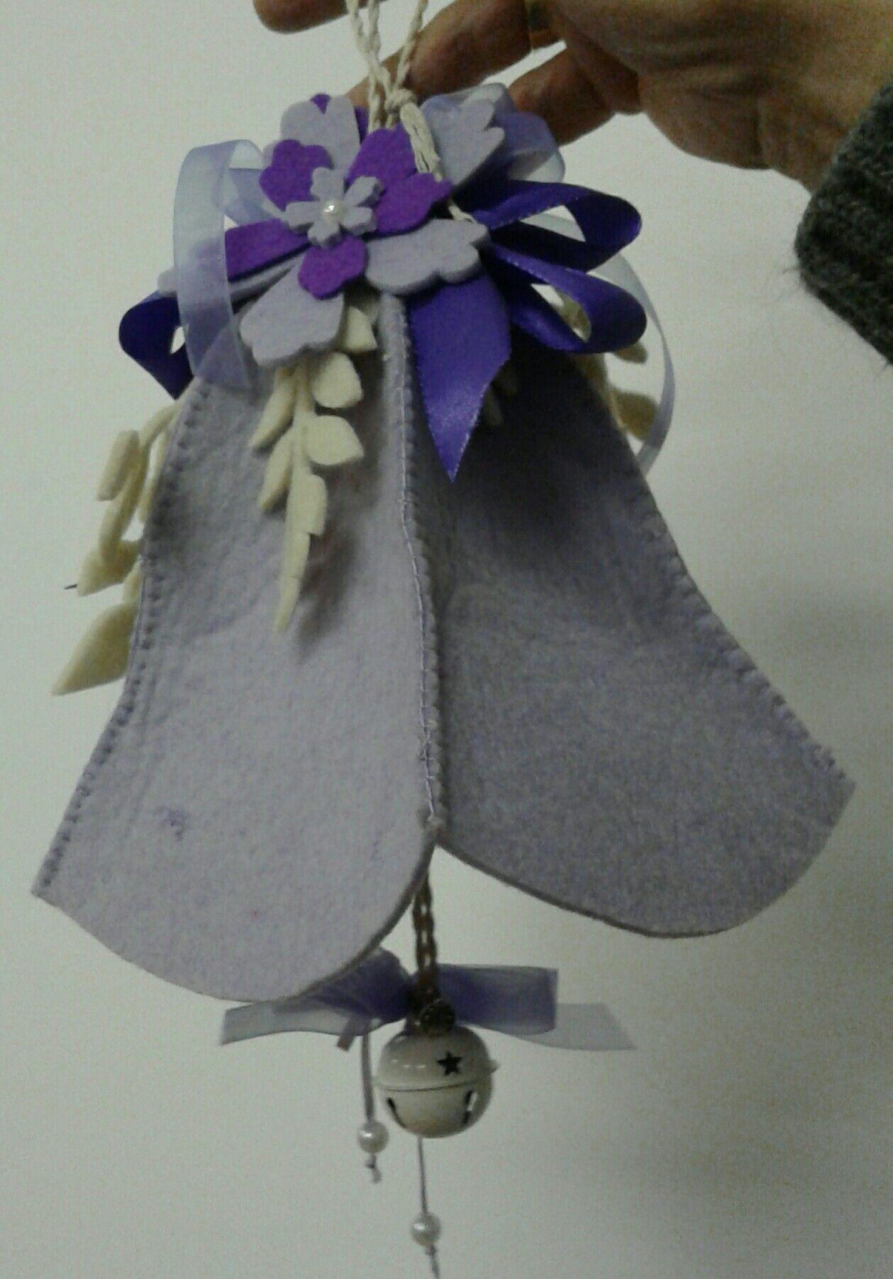 campana in feltro - di Vanda