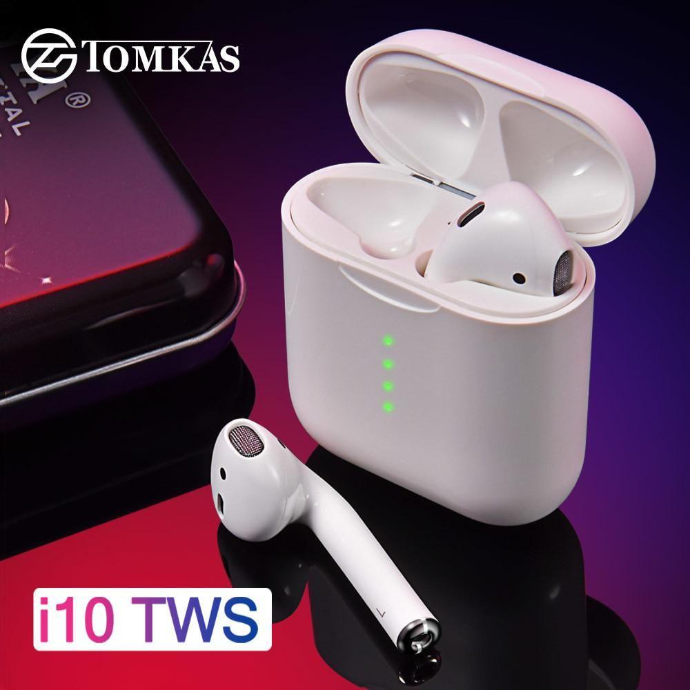 I10 Tws Bluetooth Earphone Air Pods Wireless Headphones 5 0 Wireless Bluetooth Headset Earbuds Touch Control For Earbuds Earbud Headphones Bluetooth Earphones