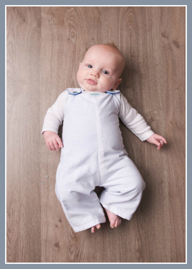 I love baby rompers. They are easy to put baby into. #pattern ...