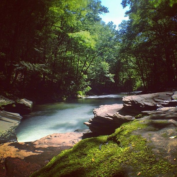 Beautiful Places Hudson Valley: Peekamoose Mountain Blue Hole, West Shokan, NY Been There