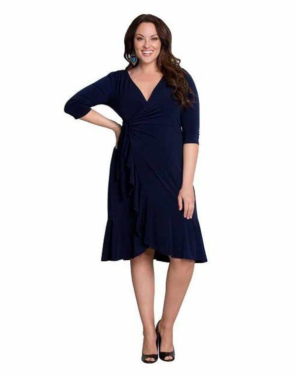 cutethickgirls navy blue plus size dresses (07