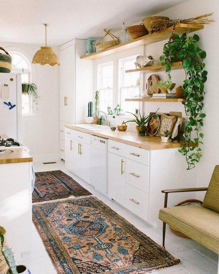 33 Admirable Practical Kitchen Ideas You Will Definitely Like Bohemian Kitchen Decor Interior Design Kitchen Home Decor Kitchen