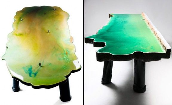 OCEAN TABLE Par Gaetano PESCE