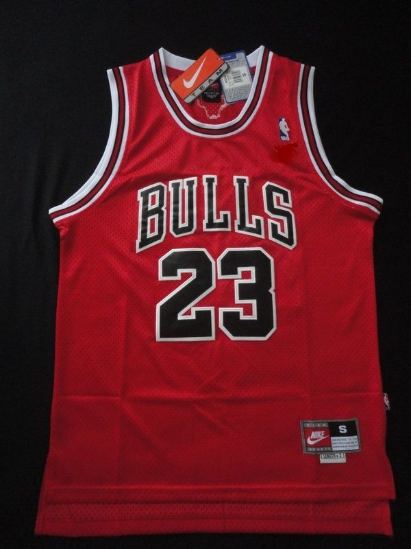 4f4706112 Michael Jordan  Chicago Bulls  23 Classic  NBA Jersey Red Nwt Adult Medium  from  39.99
