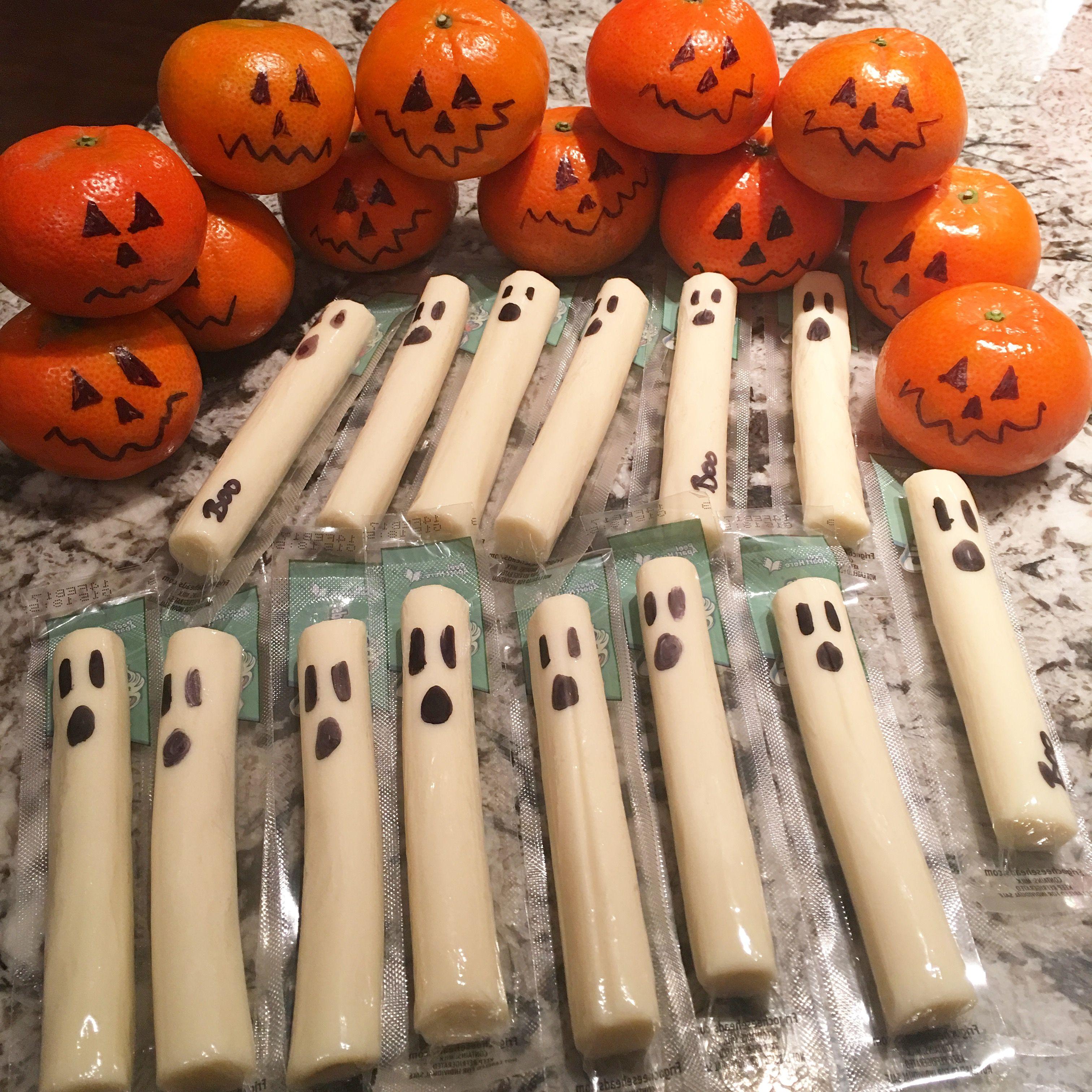 Healthy Halloween Kids Snack idea