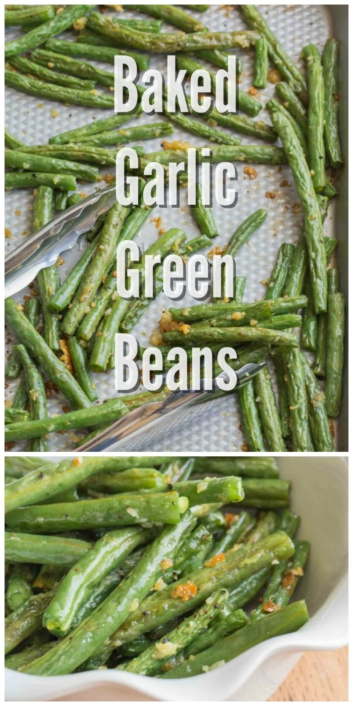 Photo of Baked Garlic Green Beans with a Recipe Video – My Kitchen Craze
