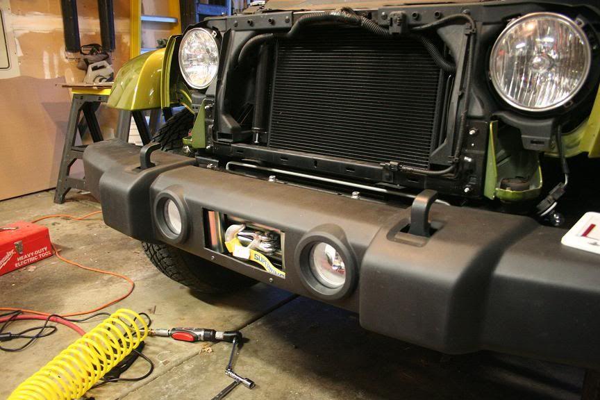 my first mod hidden winch jeep wrangler forum jeep hidden winch jeep wrangler forum