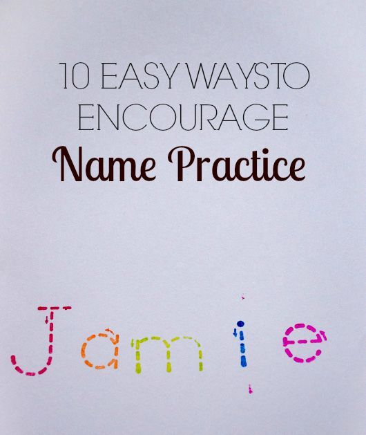 Teaching preschool students how to write their name popular mba business plan