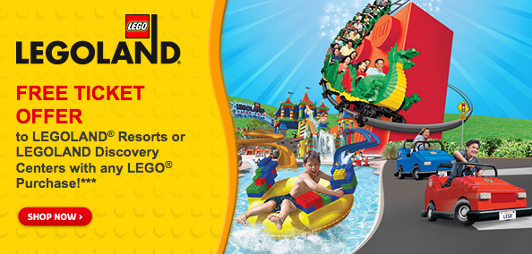 LEGO Store: Buy 1 Get 1 FREE LEGOLAND Ticket Voucher with ...
