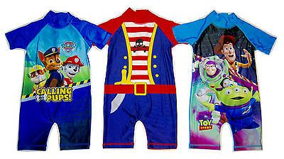 Boys baby #toddler all in one #swimming suit costume paw #patrol toy story pirate,  View more on the LINK: http://www.zeppy.io/product/gb/2/252391697227/