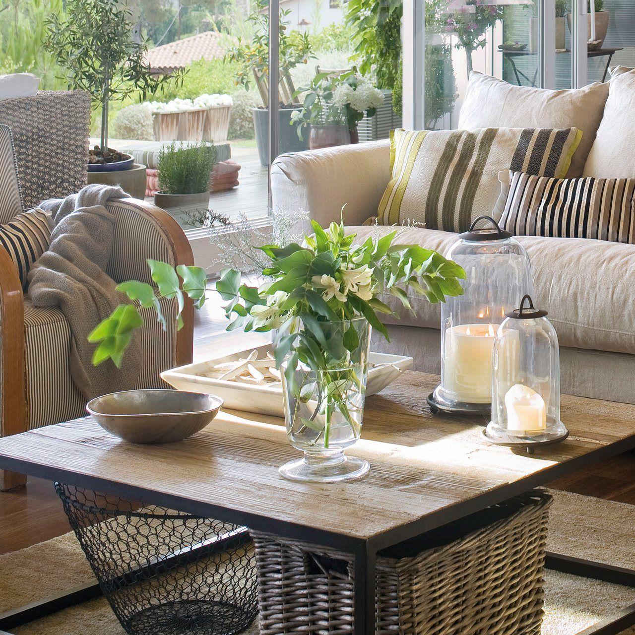 Ideas y consejos para decorar la mesa de centro elmueble - Consejos para decorar el hogar ...