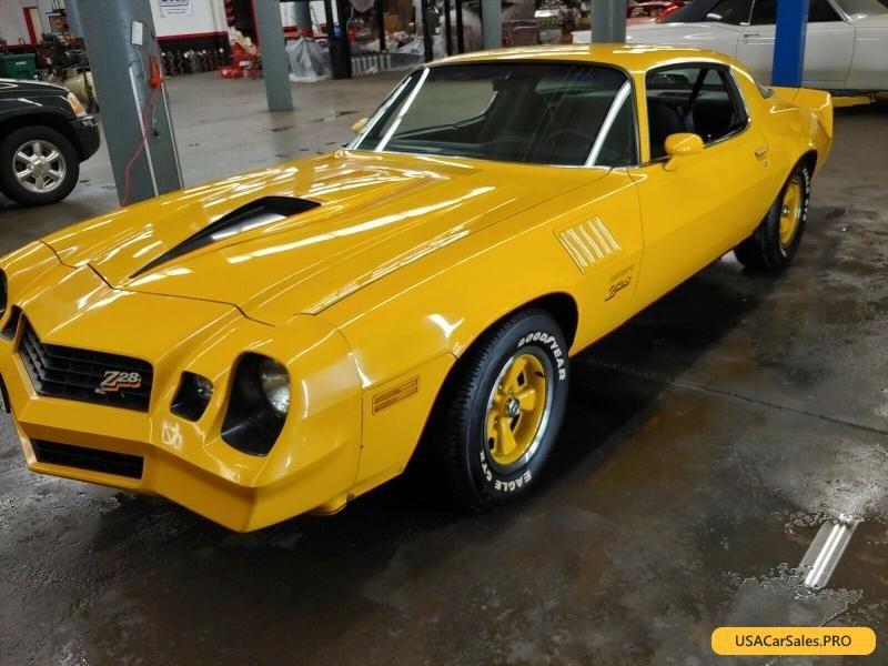 Car For Sale 1978 Chevrolet Camaro Z28