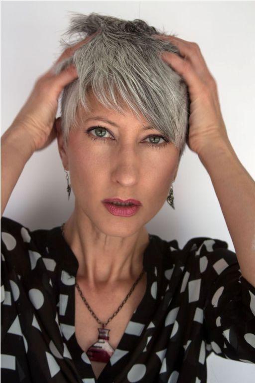 44++ Funky haircuts for grey hair ideas