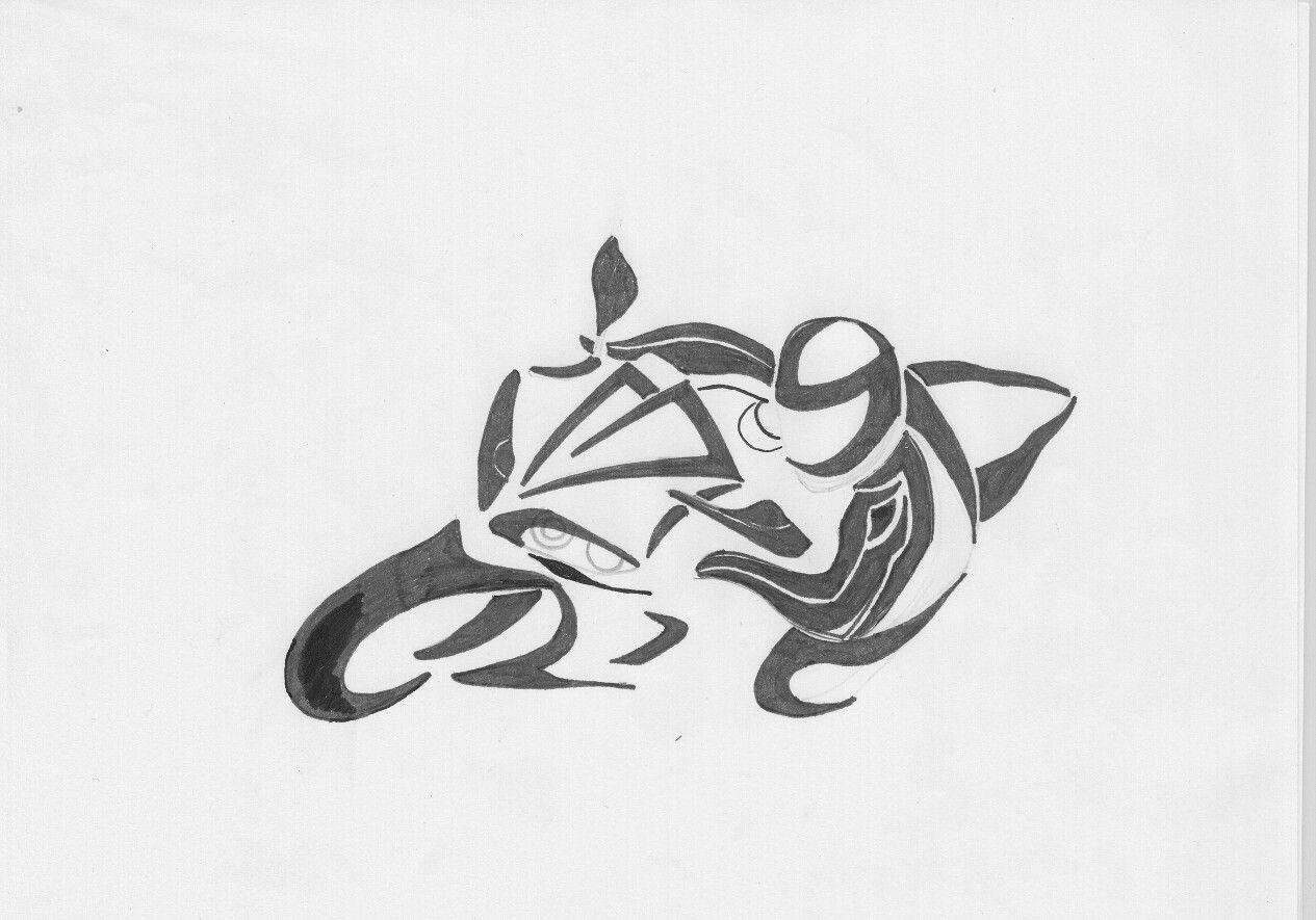 tatouage velo avant bras