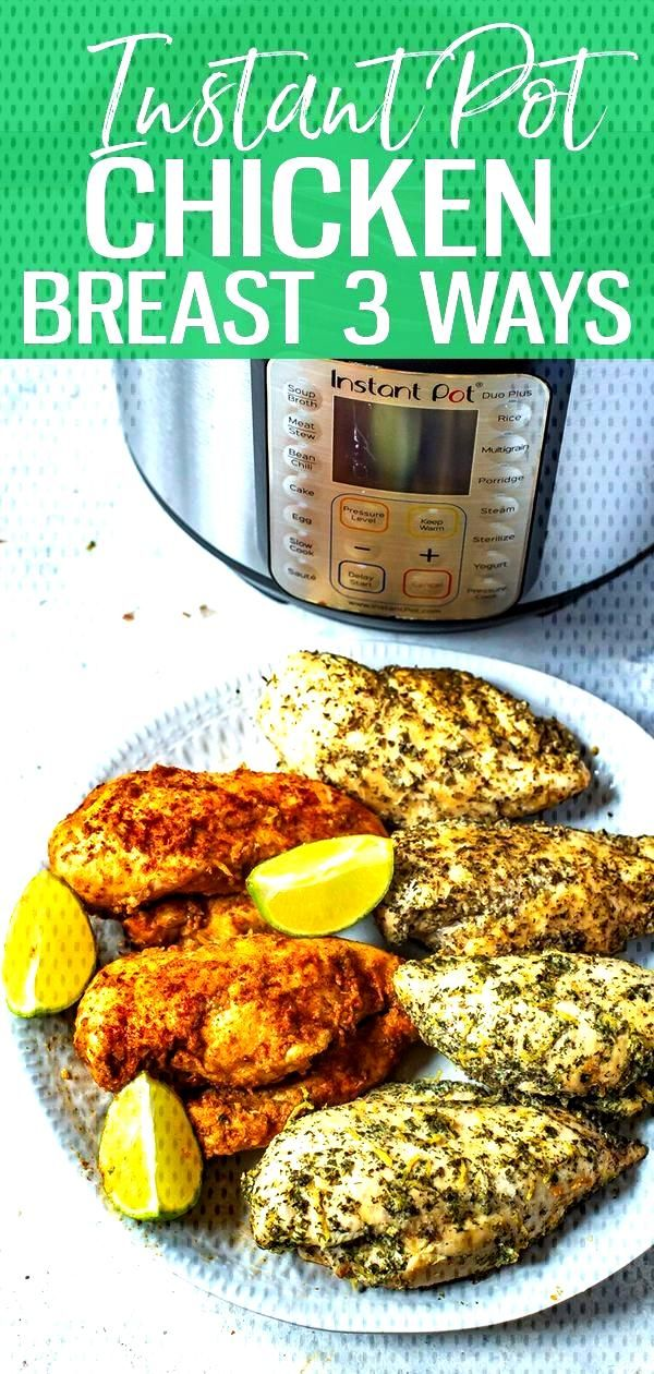 This Instant Pot Chicken Breast recipe is a failproof method of making juicy, delicious chicken bre