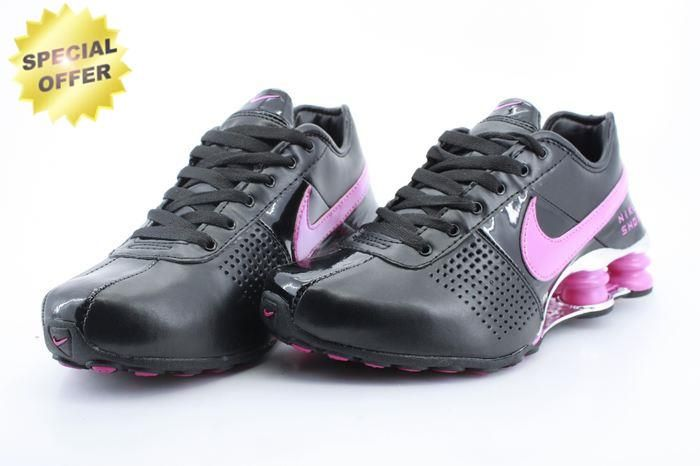 21b6ade61c05 Nike Shox OZ-D White Black Pink OZ-001 Womens Outlet
