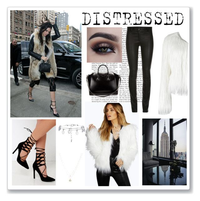 """D I S T R E S S E D"" by hopey101 ❤ liked on Polyvore featuring Givenchy, Boohoo, Lulu*s and LC Lauren Conrad"