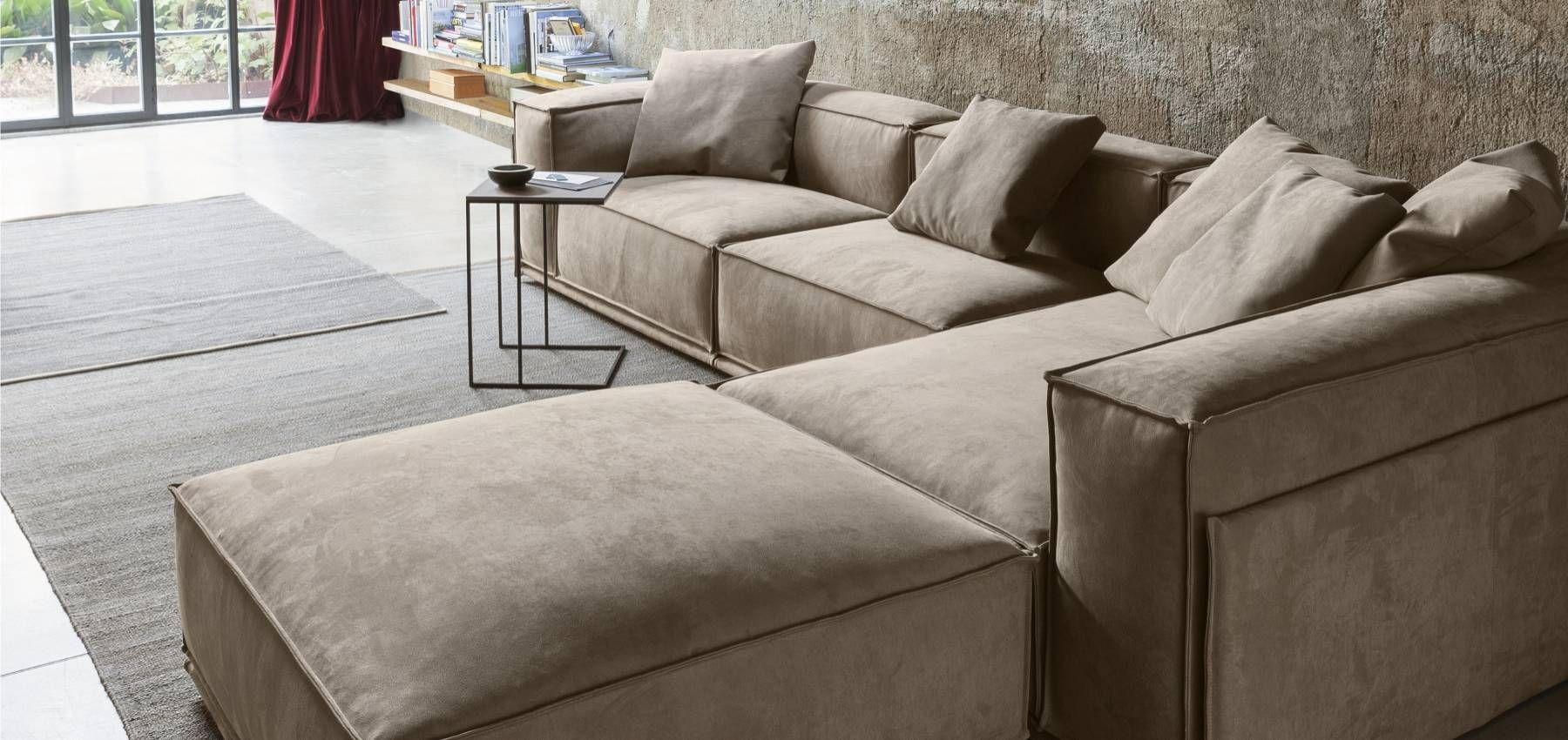 SARTORIA - Collezione divani in tessuto Doimo Salotti. Modello ...