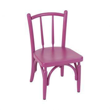 Kit 2 Cadeiras Cozinha Tasca Kids Pink Finemóveis