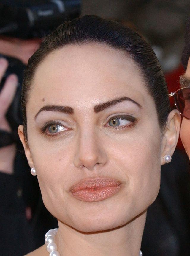 Angelina Jolies Bad Bad Eyebrows Makeup Tips For Older Women
