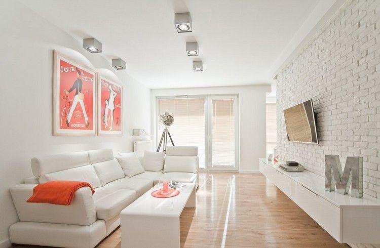 fernseher wand montieren wohnzimmer, fernseher an wand montieren - die eleganteste variante fürs moderne, Design ideen