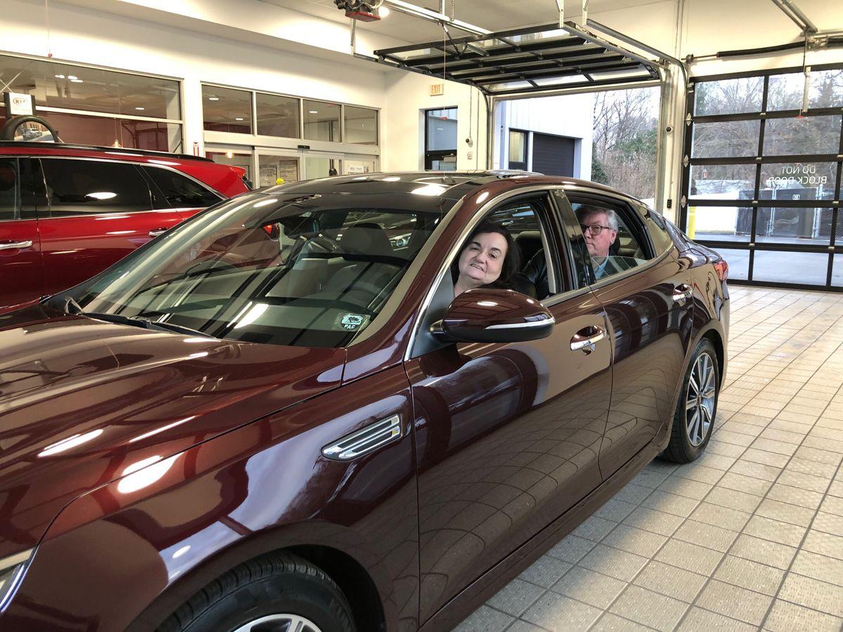 Another Valued Happy Premier Customer Congratulations Jim And Rose We Hope You Enjoy Your Brand New 2020 Kia Optima Ex Pr In 2020 Kia Optima Kia Brand New