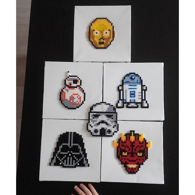 Ideal Star Wars hama beads by pupucetcie