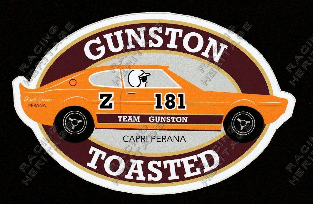 Aufkleber Autocollant Nice Sticker for a Ford Capri