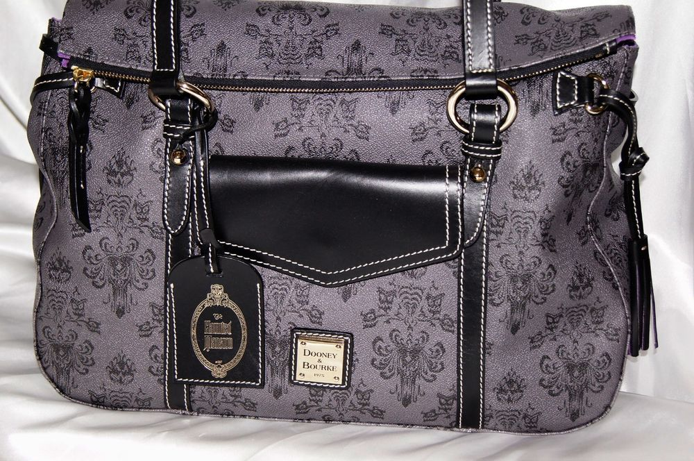 b0c85a4816e I found another one~ Just in and list for you! Disney Haunted Mansion Purse  Dooney   Bourke Smith Handbag Satchel Totel~NWT