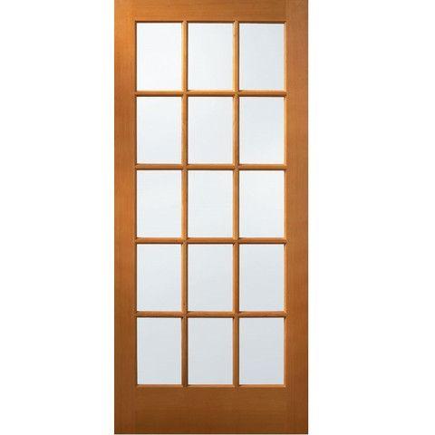 15 Lite Hemlock Interior Door 36 Wood Exterior Door Wood Front Doors Wood Doors