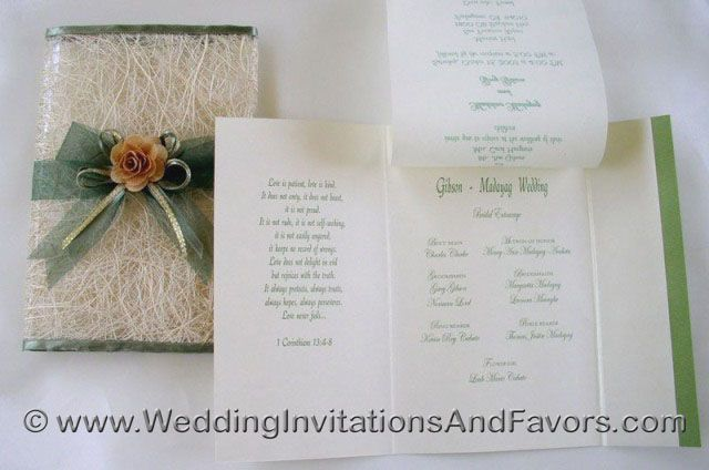 Filipino wedding invitations mint peach Wedding ideas