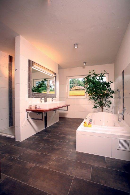 Fertighaus Wohnidee Badezimmer Toskana Wohnen