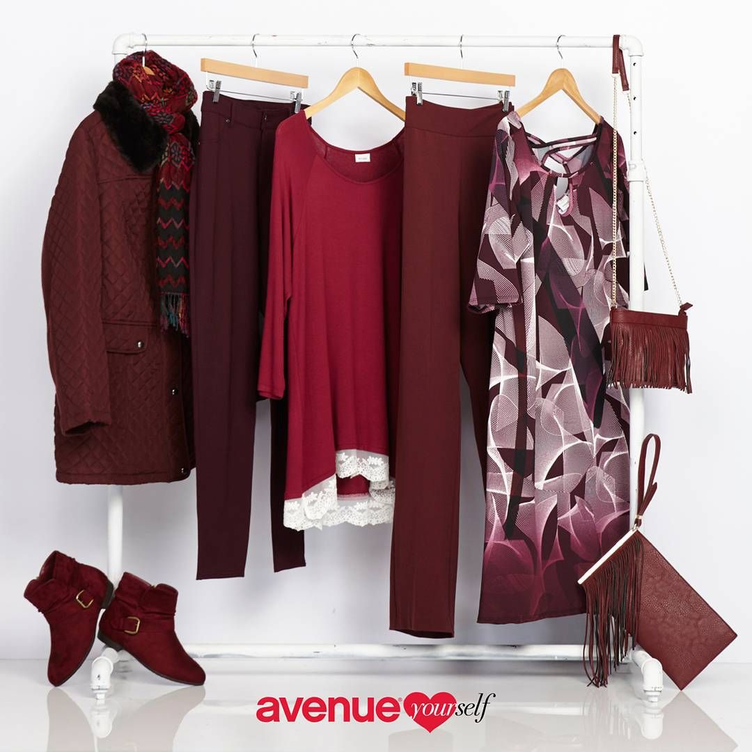 Get a taste of wine with our marsala collection for fall! Pantone's Color of the Year is here at Avenue.