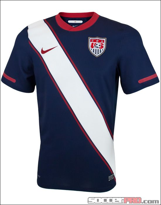 db1c4dc18 Nike USA Away Soccer Jersey 2010-2011...$55.99 | US National Soccer ...