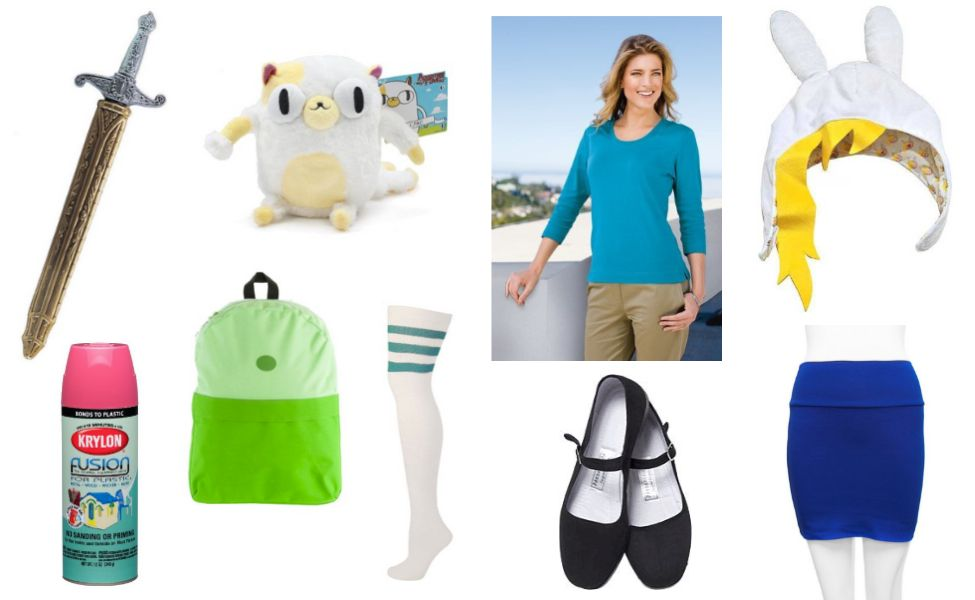 Fionna The Human Costume Adventure Time Costume Diy Costumes Cake Costume