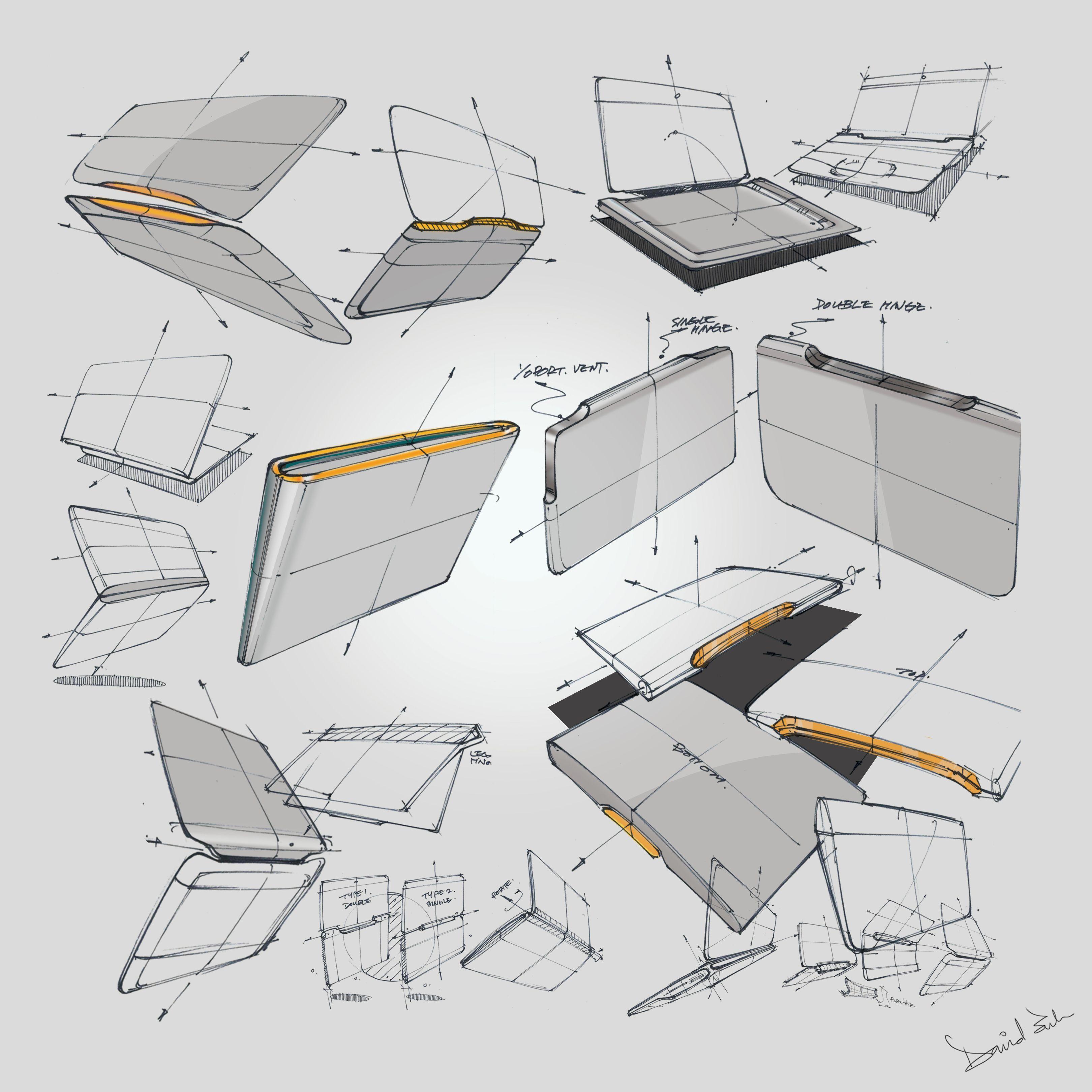 Laptop Notebook Nb Design Sketch Id Industrial Design Sketch Sketches Sketch Design