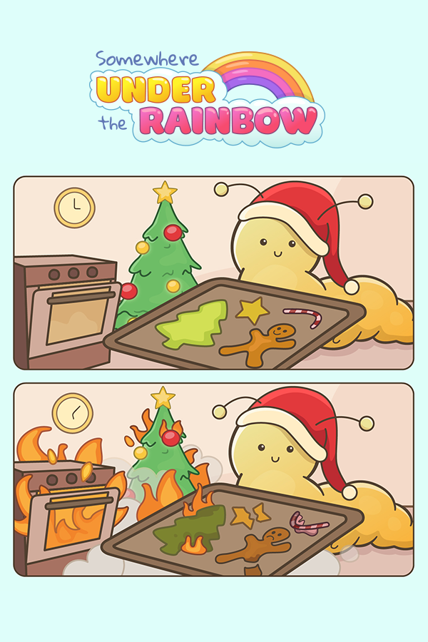 Christmas cookies fresh out of the oven! #nailedit #christmasbaking #holidaycookies #xmascookies #gingerbreadman #bakingdisaster #funnyxmas #comical #animalcomic #cutecomic #cutecomics #foodfail #comicseries #specialcookies #christmasspecial #christmasbakingideas #cookiesrecipe #yummycookies #bakinginspo #bakinginspiration