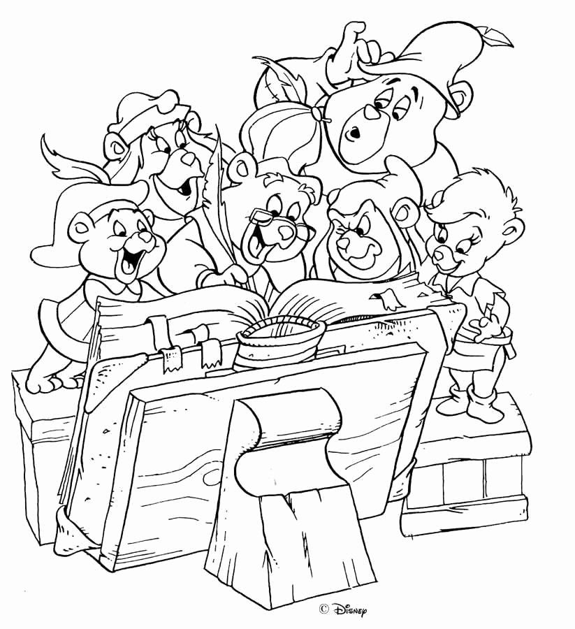 Gummy Bear Coloring Page Luxury The Great Site Of Gummi Bear Coloring Pages Cartoon Coloring Pages Disney Coloring Pages