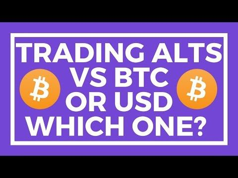 Should i sell bitcoin for usd or trade for bitcoin